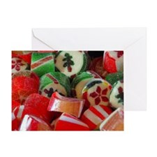 Old Fashioned Candy Greeting Card