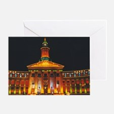 Denver Civic Center Greeting Card