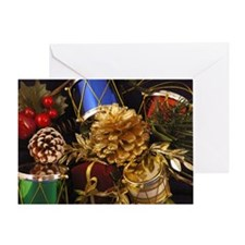 Drums & Pinecones Greeting Card