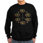 PEACE LOVE AND JOY Sweatshirt (dark)