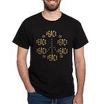 PEACE LOVE AND JOY Dark T-Shirt