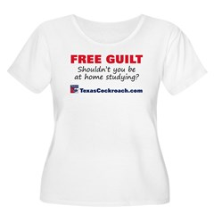 Free Guilt: Studying T-Shirt