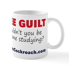 Free Guilt: Studying Mug