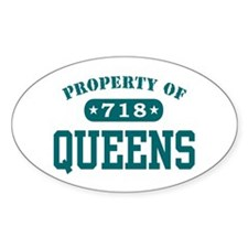 Queens Oval Decal