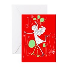 Zoes holiday card Greeting Cards