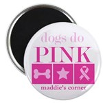 Dogs Do Pink magnet