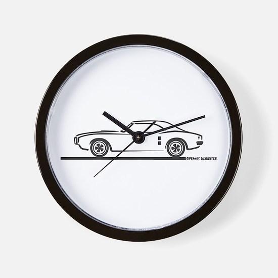 1968 Pontiac Firebird Wall Clock