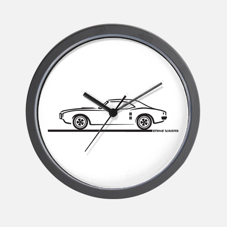 1968 Pontiac Firebird Wall Clock