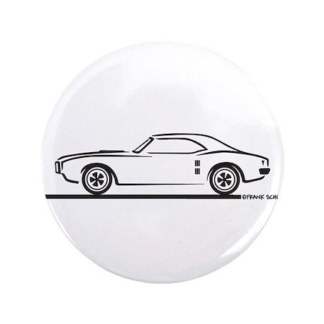 """1968 Pontiac Firebird 3.5"""" Button"""