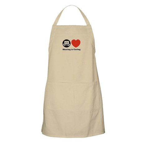 sharing is caring, pro piracy Apron