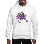 Violets Hooded Sweatshirt