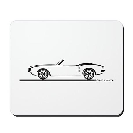 1968 Pontiac Firebird Convertible Mousepad