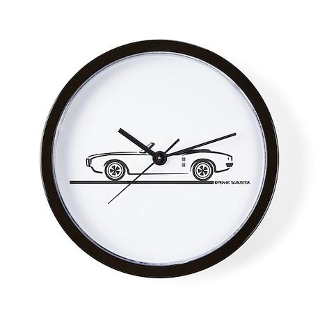 1968 Pontiac Firebird Convertible Wall Clock