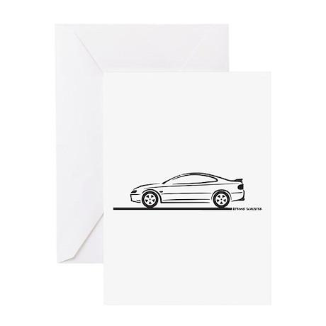2004-06 Pontiac GTO Greeting Card
