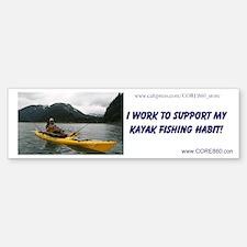 Support My Habit (YELLOWYAK) - Sticker (Bumper)