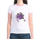 Violets Jr. Ringer T-Shirt