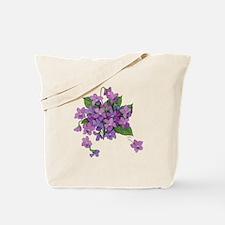 Violets Tote Bag