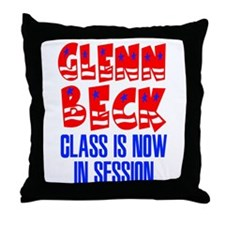 Glenn Beck Class is Now in Session Throw Pillow