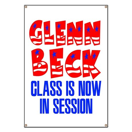 Glenn Beck Class is Now in Session Banner