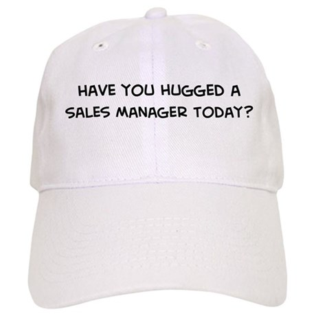 Hugged a Sales Manager Cap