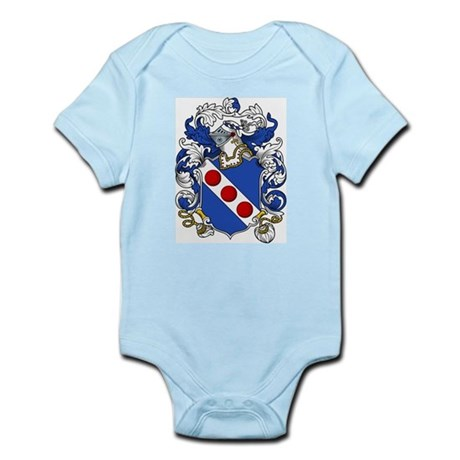 Emerson Coat of Arms Infant Creeper