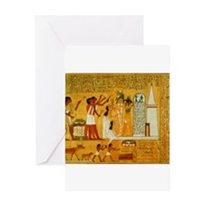Egyptian Art Greeting Card