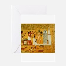 Egyptian Art Greeting Card