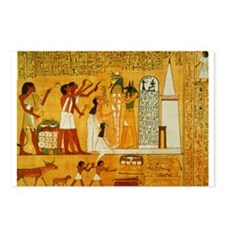 Egyptian Art Postcards (Package of 8)