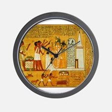 Egyptian Art Wall Clock