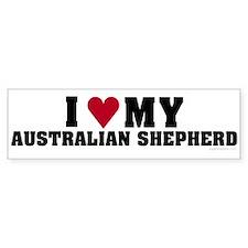 I Love My Australian Shepherd