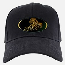 Gold Tiger Baseball Hat