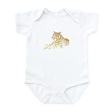Gold Tiger Infant Bodysuit