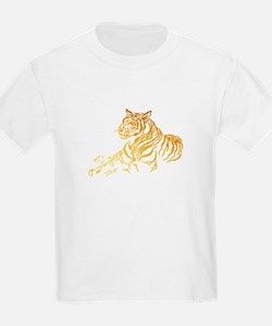 Gold Tiger T-Shirt