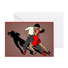 tango passion Greeting Card