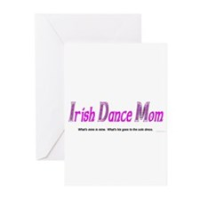 Irish Dance Mom - Greeting Cards (Pk of 10)