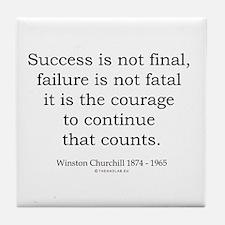 Winston Churchill 31 Tile Coaster