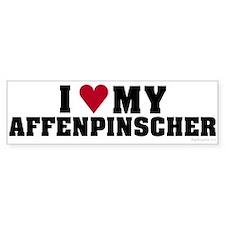 I Love My Affenpinscher