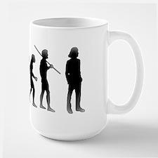 Evolution of Man The Mullet Mug