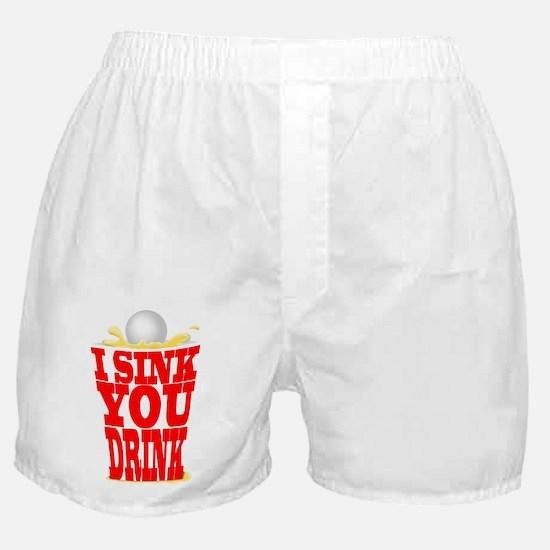 Cool Beerpong Boxer Shorts