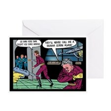 Drama Queen in Outer Space Blank Cards (Pk of 6)