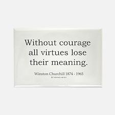 Winston Churchill 32 Rectangle Magnet