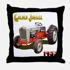 Cute Tractor jubilee Throw Pillow
