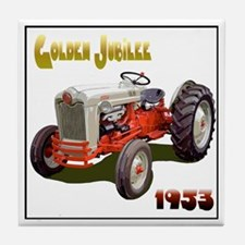 Funny Tractor jubilee Tile Coaster