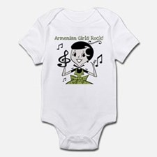 Armenian Girls Rock Infant Bodysuit