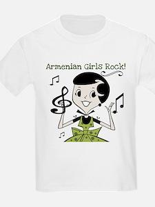 Armenian Girls Rock T-Shirt