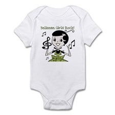 Belizean Girls Rock Infant Bodysuit