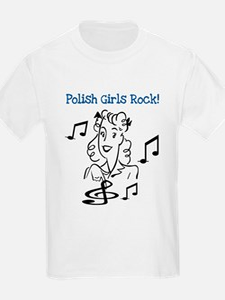 Polish Girls Rock T-Shirt