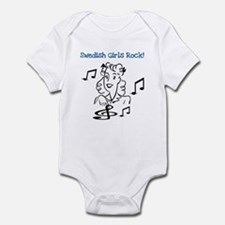 Swedish Girls Rock Infant Bodysuit