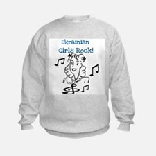Ukrainian Girls Rock Sweatshirt