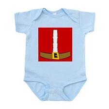 Santa Suit Belly Infant Bodysuit